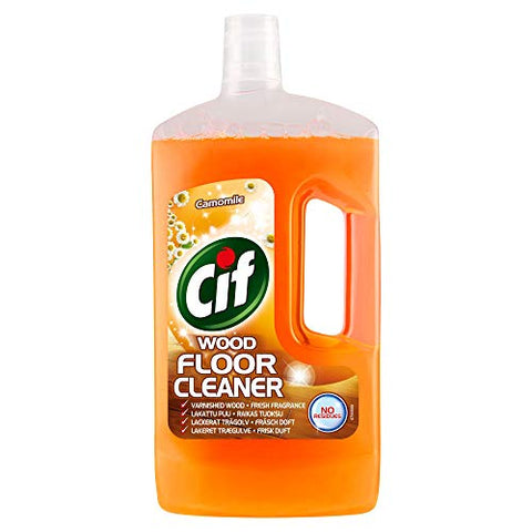 Cif Camomile Wood Floor Cleaner (1L)