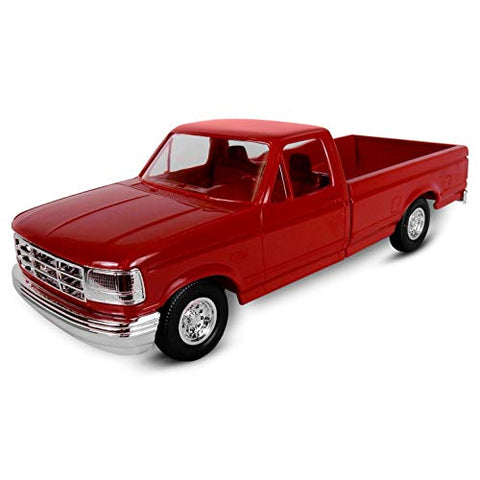 ERTL AMT 1994 Ford F150 Pickup XLT, 1:25 Scale, Crimson Red. Plastic ERTL Promo Collectors Item.