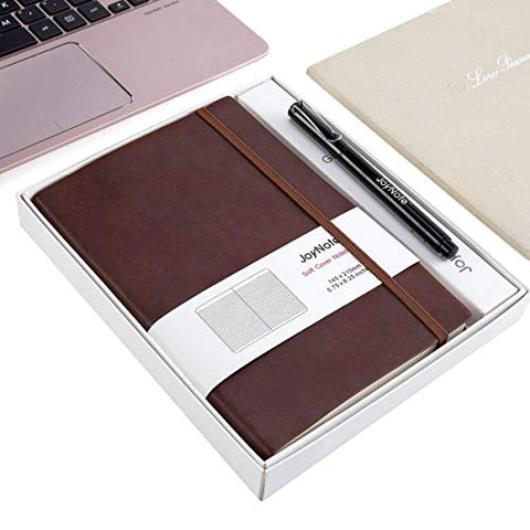 JoyNote A5 Classic Journal Notebook, Collegue Ruled Notebooks with Pen Loop