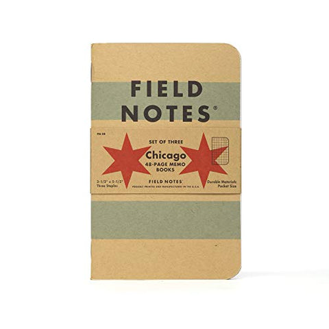 Field Notes: Chicago 3-Pack