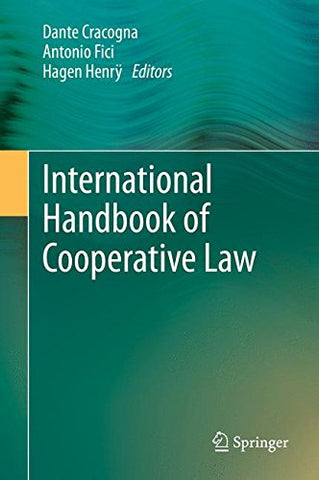 International Handbook of Cooperative Law