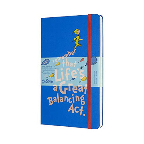Moleskine Limited Edition Dr. Seuss 18 Month 2019-2020 Weekly Planner