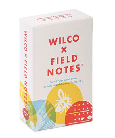 Field Notes: Wilco 6-Pack