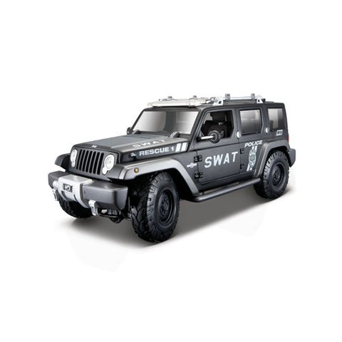 Maisto 1:18 Jeep Rescue Concept: Tactical Diecast Vehicle