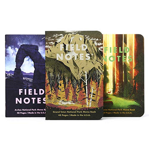 Field Notes: National Parks Series D 3-Pack