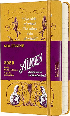 Moleskine Limited Edition Alice in Wonderland 12 Month 2020 Daily Planner