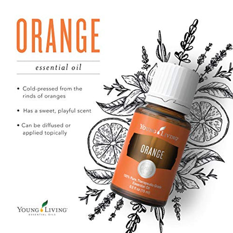 Orange Essential Oil by Young Living