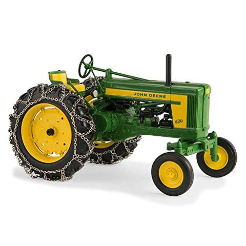TOMY 1/16th Prestige Series John Deere 620 with Chains 45544