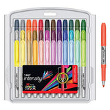 BIC Intensity Fashion Permanent Markers, Fine Point, Assorted Colors, 36-Count