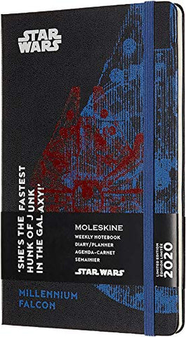 Moleskine Limited Edition Star Wars 12 Month 2020 Weekly Planner