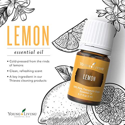 Lemon Essential Oil by Young Living