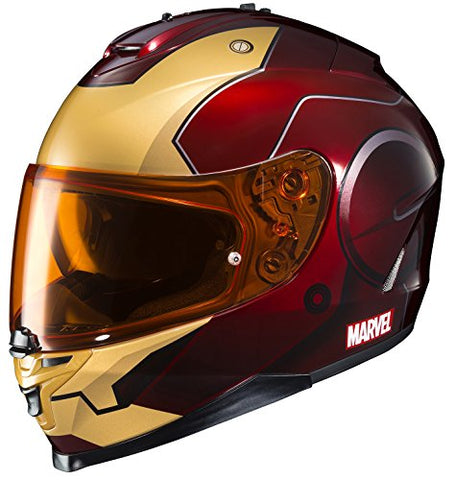 HJC Helmets Marvel IS-17 Unisex-Adult Full Face Street Motorcycle Helmet