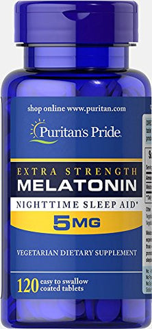 Puritan's Pride Melatonin 5 mg