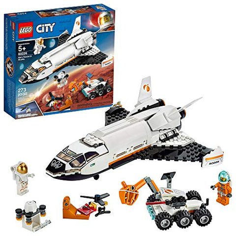 LEGO City Space Mars Research Shuttle 60226 Space Shuttle Toy Building Kit (273 Pieces)