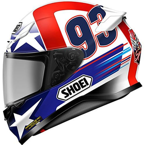Shoei Indy Marquez RF-1200 Street Bike Racing Motorcycle Helmet