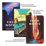 Field Notes: National Parks Series A 3-Pack