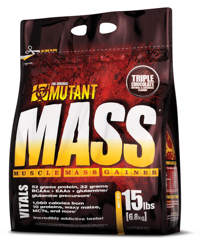 Mutant Mass Muscle Gainer, 15 Lbs.