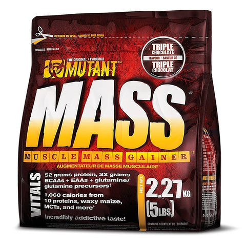Mutant Mass Muscle Gainer, 5 Lbs.