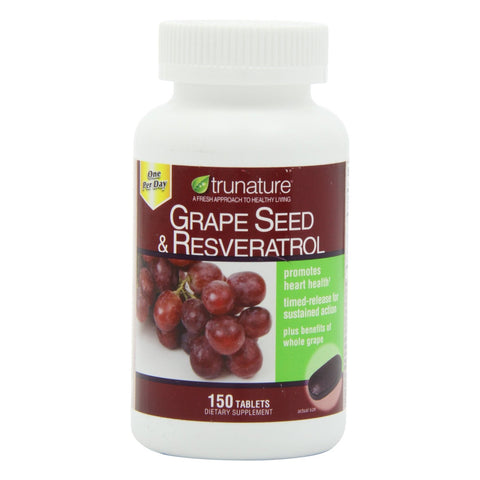 TruNature Grape Seed & Resveratrol