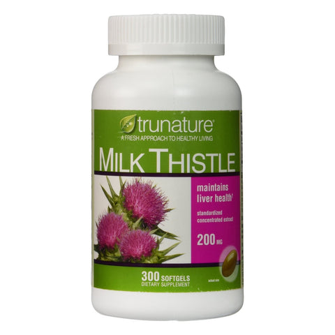 TruNature Milk Thistle, 300 Softgels