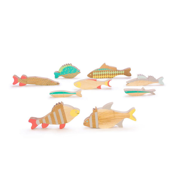 handmade magnetic fish game. Wooden toys. Eco toys Wholesome Gifts.