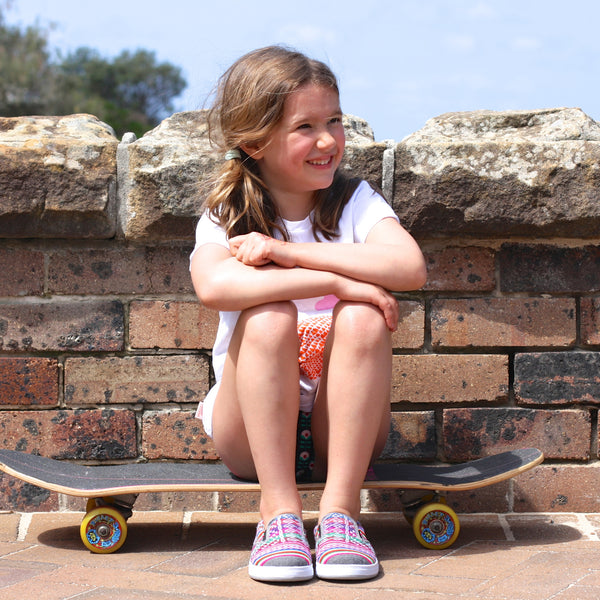Slate kids slip-on shoes - Wholesome Gifts