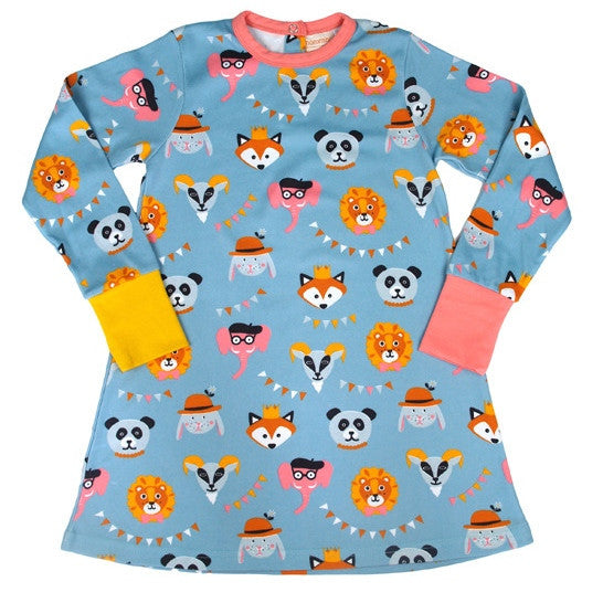 Party with animals A-line dress - Wholesome Gifts