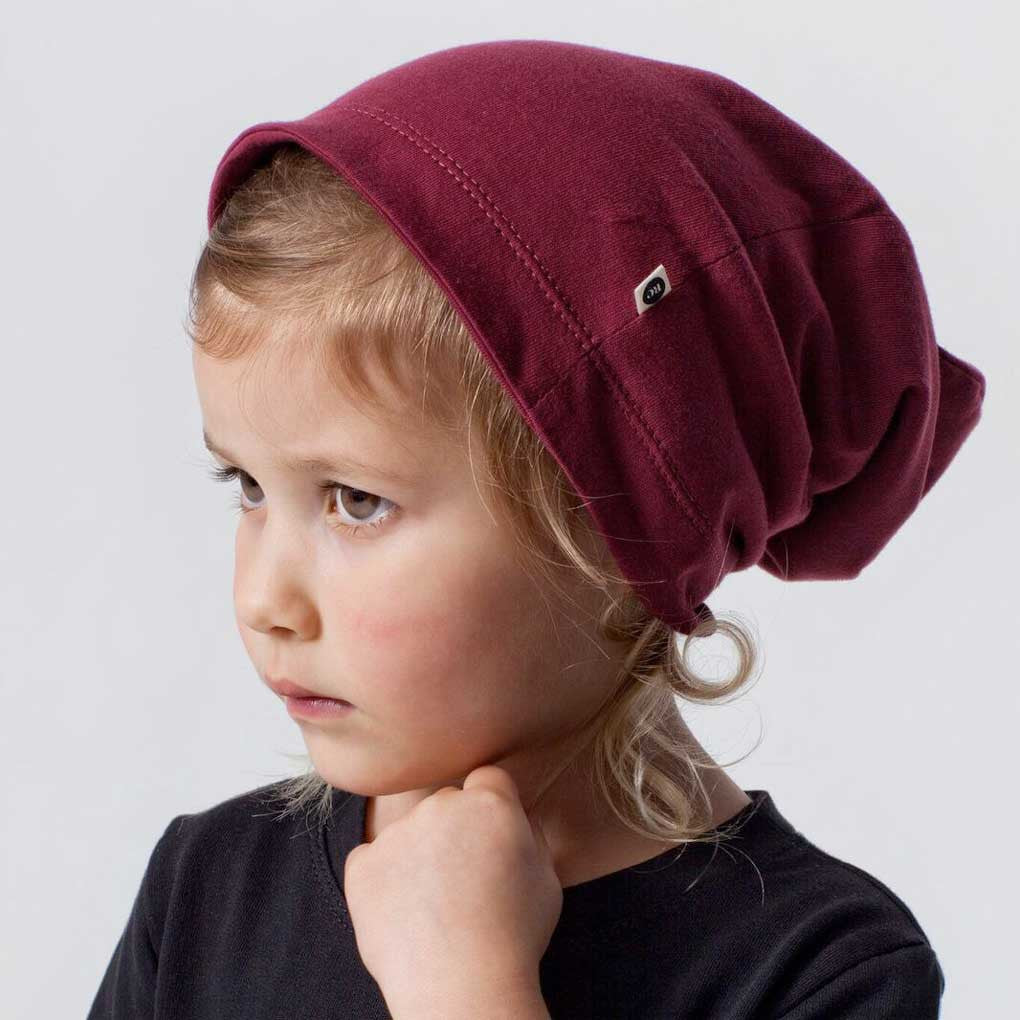 Mulberry slouch beanie