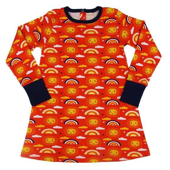 Moromini Australia. Wholesome Gifts. Perfect weather dress. Scandinavian organic kids clothes.