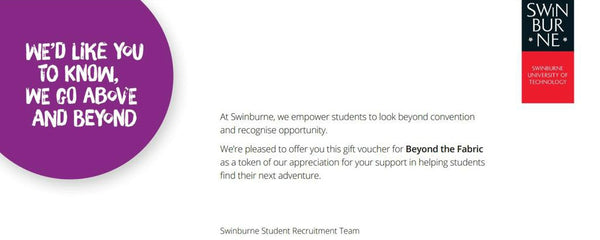 Swinburne Vouchers