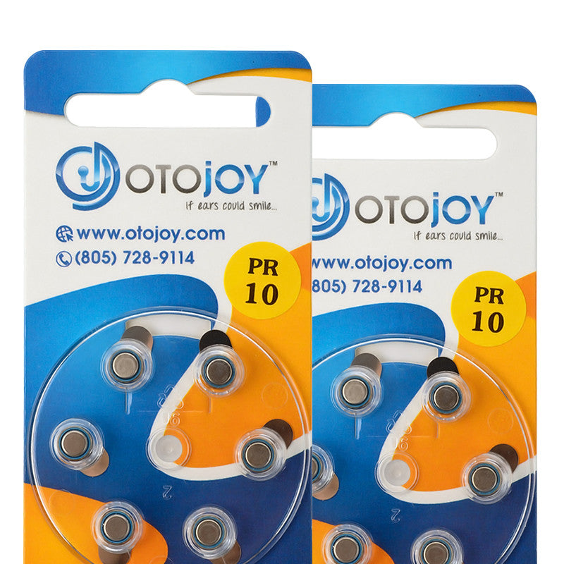 OTOjOY Hearing Aid Battery Subscription – Size 10
