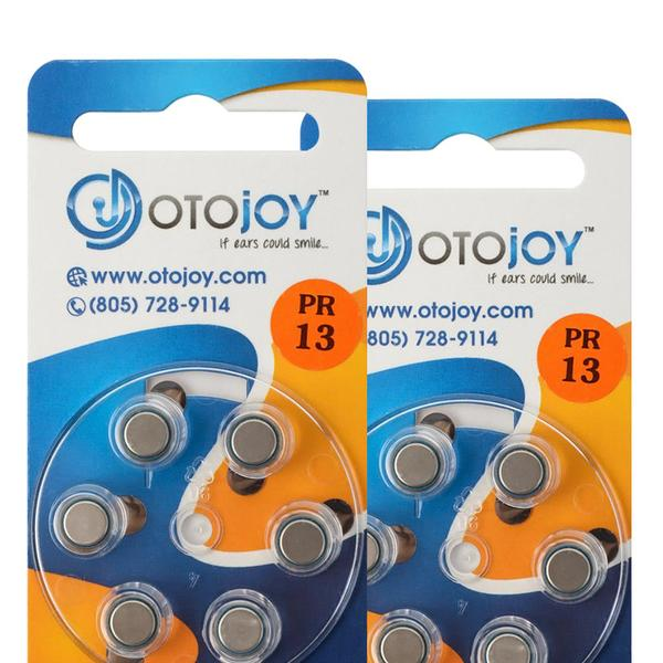 OTOjOY Hearing Aid Battery Subscription – Size 13