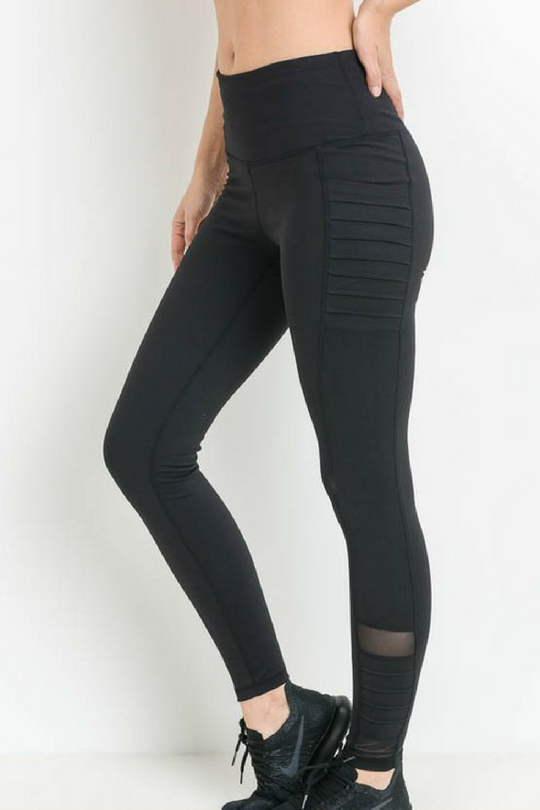 high quality get cheap buy online On The Edge, Moto Workout Leggings
