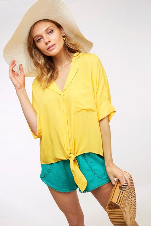 Sunshine Days Top