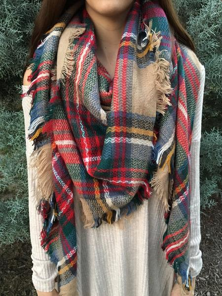 Oh So Chic Blanket Scarf