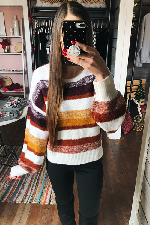 Electric Feeling Sweater