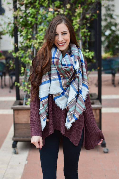 Winter Paradise Blanket Scarf