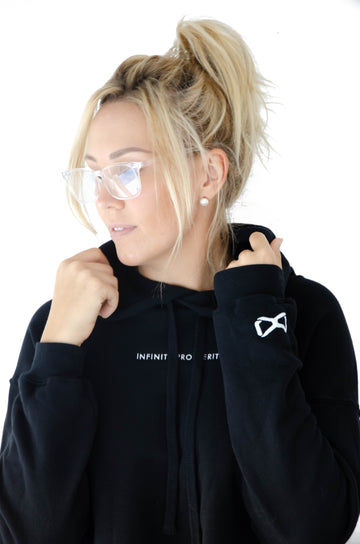 IP Basics - Women's cropped fleece hoodie