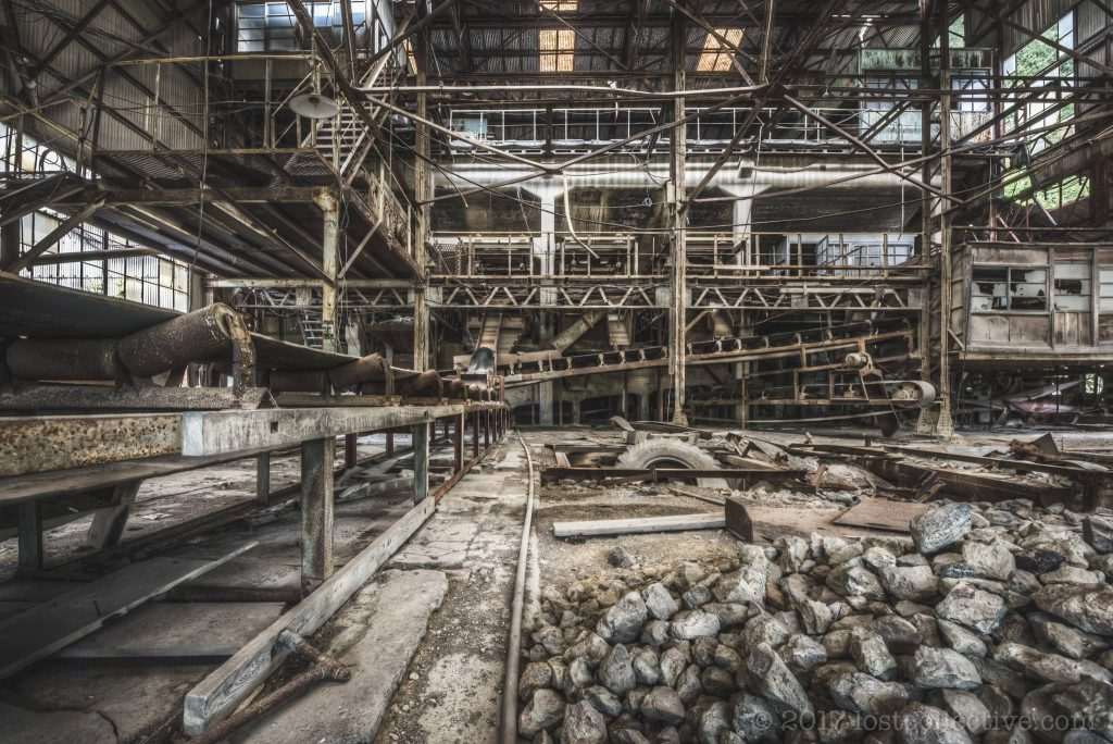 an abandoned mine - curbed - lost collective