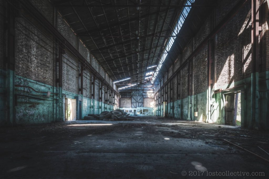 a dark hall in a colliery - ignant - lost collective