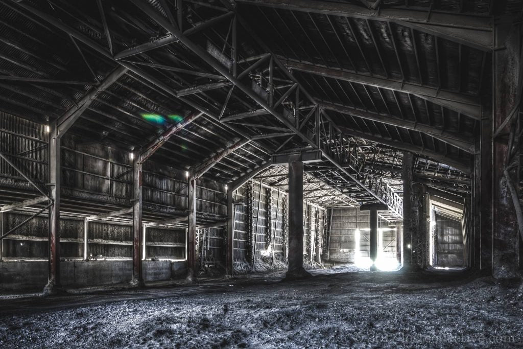 a cavernous dark shed - creators - lost collective