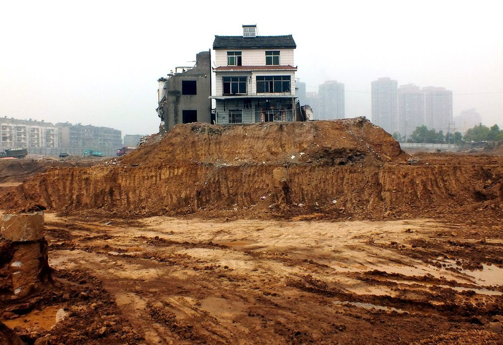 the guardian - chinas nail houses
