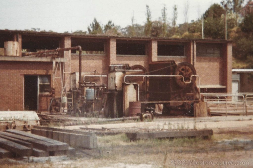 rusted machinery in wangi power station - lost collective