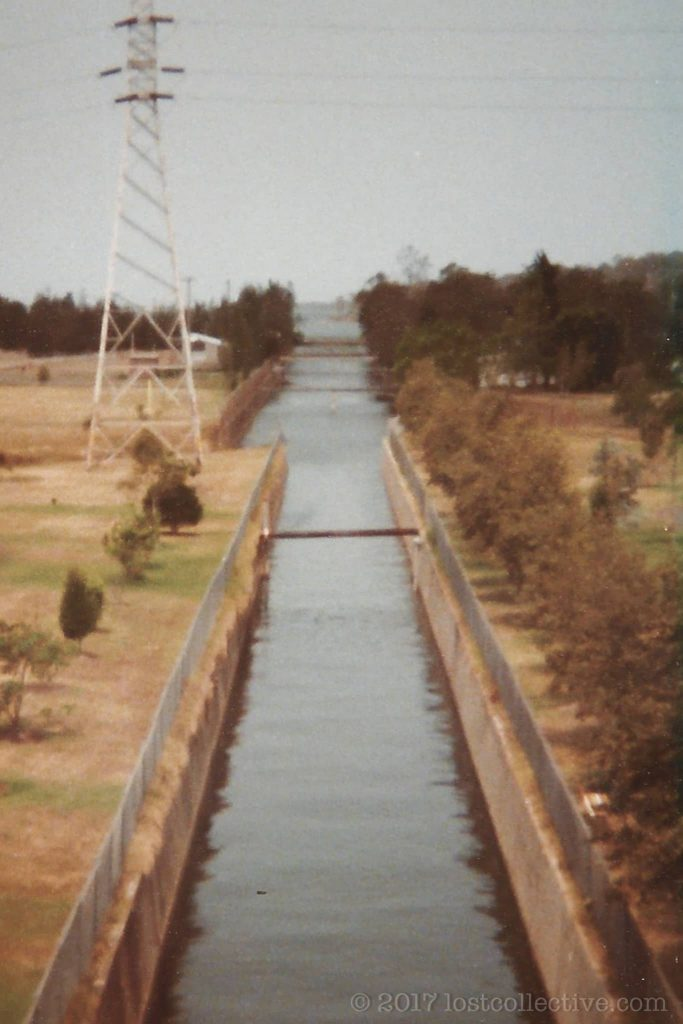 the cooling water channel of wangi power station leading out to wangi bay - lost collective