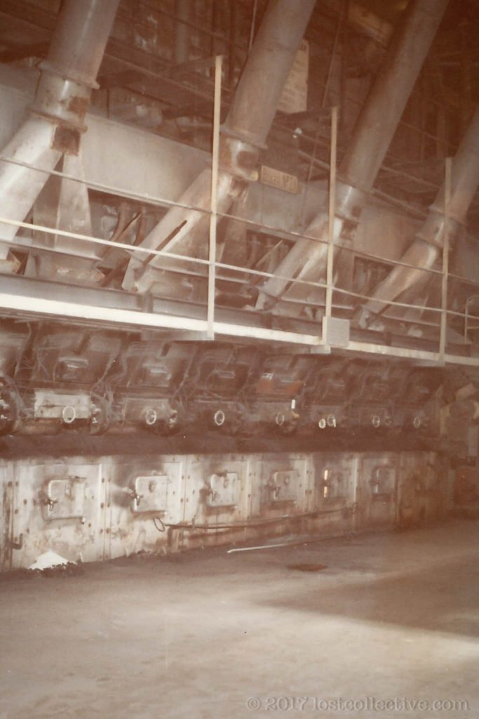 chain grate boilers in wangi power station - lost collective
