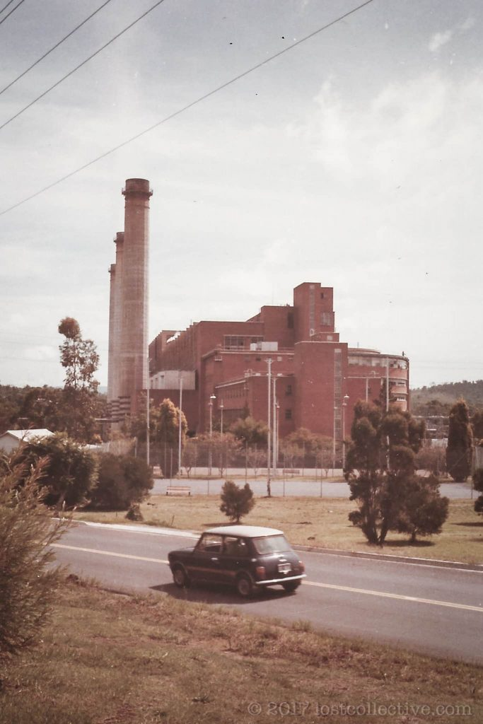 a roadside shot of wangi power station - lost collective
