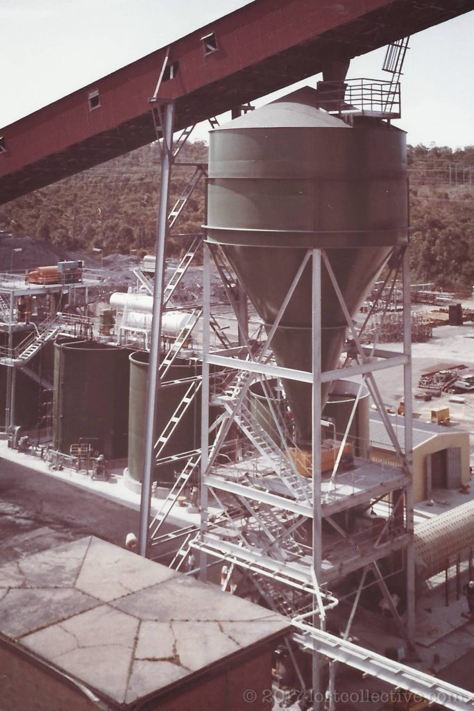 part of the wangi power station colliery - lost collective