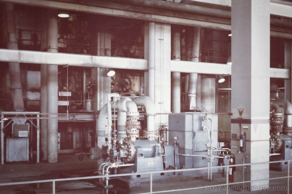 machinery inside wangi power station - lost collective