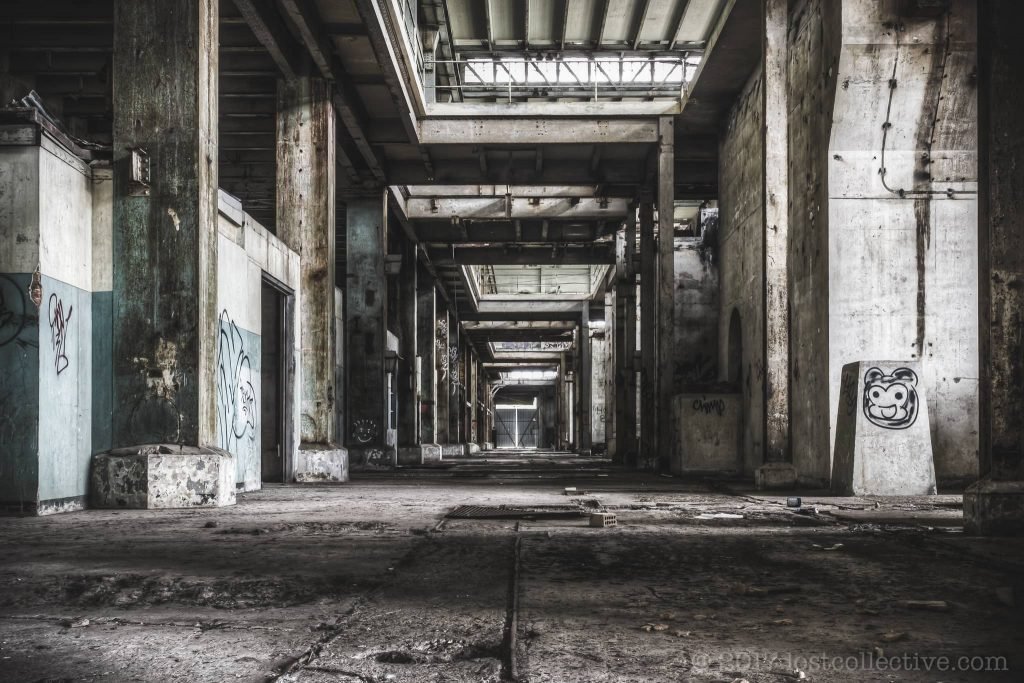 basement of an abandoned power station - curbed - lost collective