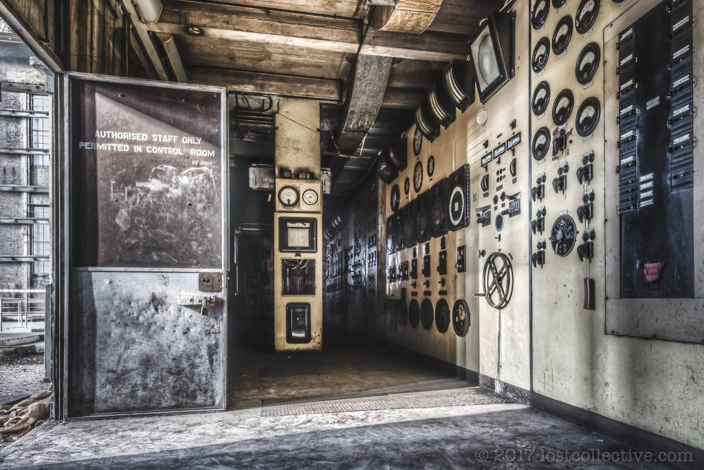 the cream coloured control room of white bay power station - domain - lost collective
